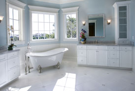 Image of White Bathroom
